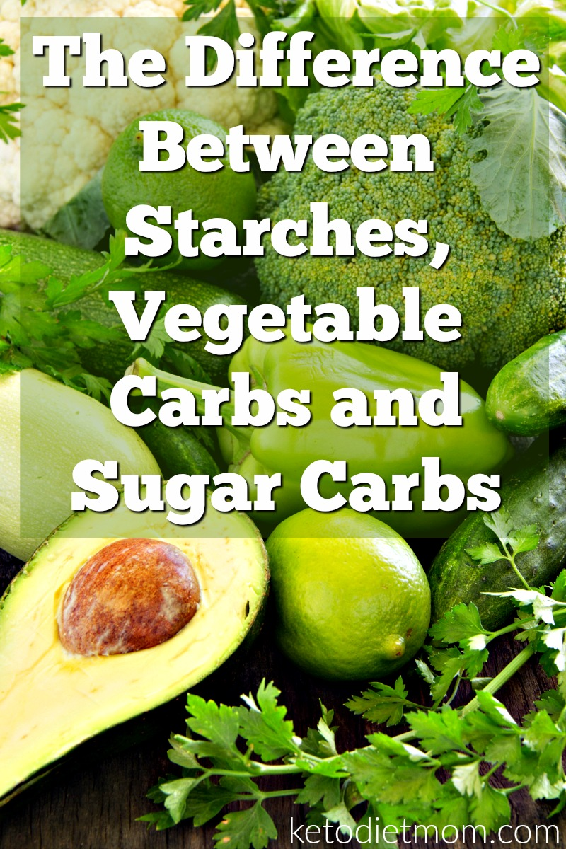 Are you considering a keto diet, or do you just want to learn more about the different types of carbs? Either way, this article on the difference between starches, vegetable carbs and sugar carbohydrates is for you.