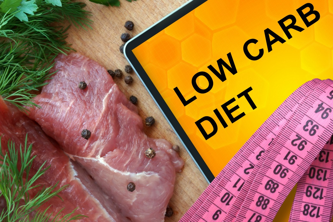 Lose weight on a low carb ketogenic diet
