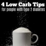 Have you been diagnosed with diabetes? A low carb diet like to ketogenic diet can be great for diabetics. Check out these low carb tips before getting started.