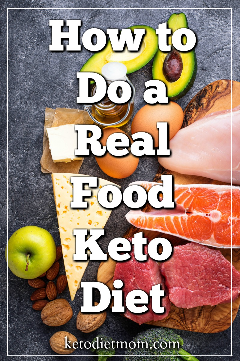 When many people hear about the keto diet, they are presented with a lot of processed food options. Learn how to do a real food keto diet, so you can lose weight and stay healthy.